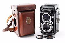 Rolleiflex twin-lens reflex camera F & H case - with scan Ref No 137283