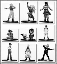 Bandai DBZ Kai Dragonball Z Vol 10 Soul of Hyper 9 Figure Black and white Color
