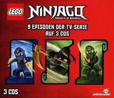 LEGO NINJAGO HÖRSPIELBOX 2  3 CD NEU