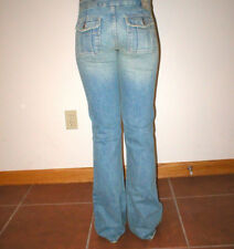 Womens $128 New Chip & Pepper Jeans 25 26 X 32 Flat Front Boot Flap Pockets USA
