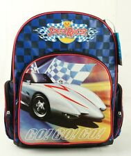 "Japanese Cartoon Speed Racer 16"" Kids' Boys Large Backpack and Girl's School Bag"