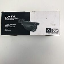 W Box Technologies 700 TVL 960H IR Bullet Camera 0E-BLIR700V True Day/ Night