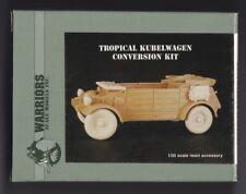 WARRIORS SCALE MODELS 35142 - TROPICAL KUBELWAGEN CONVERSION KIT 1/35 RESIN KIT
