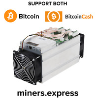 IN-HAND! Bitmain Antminer Bitcoin, Bitcoin Cash T9+ not S9 10.5TH w APW3 March