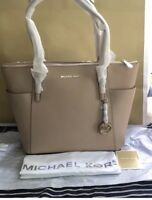 Michael Kors Jet set Large Saffiano leather tote/dust bag inc RP£270 Genuine NVT