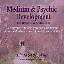 MEDIUM & PSYCHIC DEVELOPMENT, SELF/HYPNOSIS/MEDITATION CD & AFFIRMATIONS TRACK