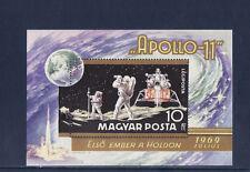 Hongrie  bloc  l' homme sur la lune  espace  Apollo 11    num: BF 79   **