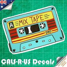 Mixed Cassette TAPE Retro Old Skool Luggage Sticker Skateboard Guitar Laptop