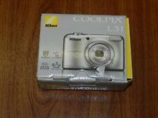 New in Open Box - Nikon COOLPIX L31 16.1 MP Camera - SILVER - 018208265008