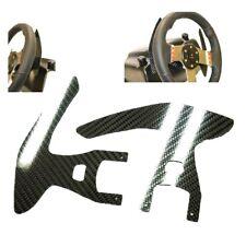 Real Carbon Fiber Farrari 458 Glossy Wheel Paddle Logitech G25/27/29 replacement