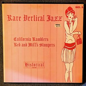 Rare Vertical Jazz - California Ramblers / Red and Miff's Stompers 1926-1927