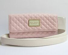 """Betsey Johnson """"Wallet On A String"""" Cross Body Wallet Blush Pink NWT MSRP $75"""