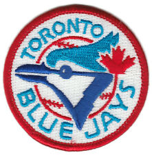 "1990'S TORONTO BLUE JAYS MLB BASEBALL 2.5"" ROUND TEAM LOGO PATCH"