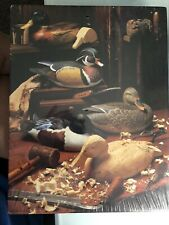 Springbok 500 Pc Jigsaw Puzzle On A Winter Afternoon Duck Carving Vintage NIB