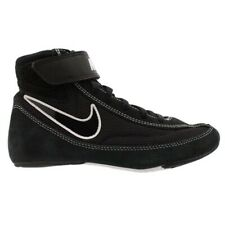 Nike Youth Wrestling Shoes 2Y Black And White - Gently Used