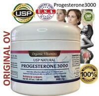 Bio identical Progesterone Cream 3000 USP Made with all Natural Ingredients