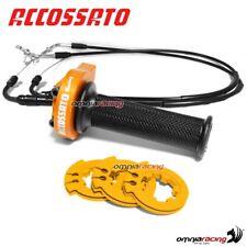 Gas rapido Accossato arancio cavi APRILIA TUONO 1000R Factory 06>09 ONAP006