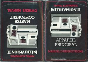 Intellivision II Canadian bi-lingual manual