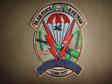 Vietnam War Patch US Air Force 34th TACTICAL GROUP With Motto CAN DO