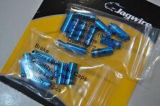Kit Terminali Guaine 4,5mm Jagwire Completo per Una Bici Col.BLU/Terminal Kit