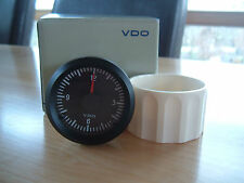 VDO Quarz Uhr 12V 52mm Zeituhr Electric Clock Instrument Cockpit Intern. Classic