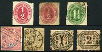 SCHLESWIG-HOLSTEIN NORTH CONFEDERATION GERMAN States Postage Stamps Collection