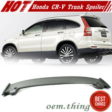 Unpaint For Honda CR-V 3rd SUV Mugen Type Rear Trunk Spoiler EX LX 2011 CRV