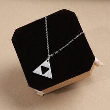 New Famous Zelda Triforce Costume Cosplay Metal Necklace Pendant
