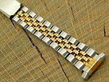 Kreisler NOS Unused Vintage Deployment Gold Plate Stainless Watch Band 10m-13mm