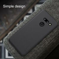 For LG G8 ThinQ NILLKIN Super Frosted Shield Matte Rigid Plastic Hard Case Cover