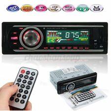 LCD Car Stereo Audio Digital In-Dash FM Aux Receiver SD USB MP3 Radio Player USA