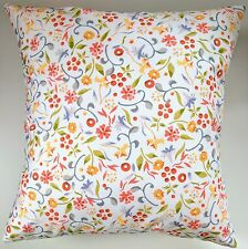 """Shabby Chic Cushion Cover in Emma Bridgewater Printed Spring Floral 16"""""""