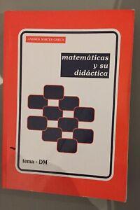 Libro de Matemáticas y su didáctica