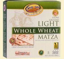 New listing Shibolim Light Whole Wheat Matza, 10.5 oz.