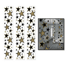 HOLLYWOOD AWARDS NIGHT STARS HANGING PARTY PANEL DECORATIONS SET 3