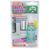 Silicon5 specchi/vetri silicone trasparente superadesivo elevata elasticità 60ml