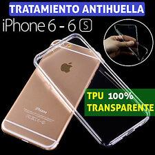 "FUNDA TPU DE GEL SILICONA ULTRAFINA TRANSPARENTE PARA IPHONE 6 6S (4,7"") CARCASA"