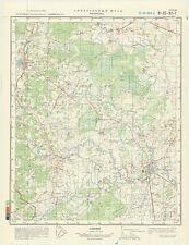 Russian Soviet Military Topographic Map – KAČANOVO (Russia), 1:50 000, ed. 1981
