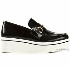 Stella McCartney Black Platform Loafers Shoes UK5 EU38 US8 Flats Perfect Gift