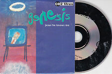 CD CARTONNE CARDSLEEVE GENESIS 2T JESUS HE KOWS ME (PHIL COLLINS) MADE IN FRANCE