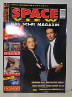 6/1996 SPACE VIEW   AKTE X -  ANDERSON - DUCHOVNY   STAR TREK - STAR WARS (SV10)