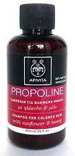 APIVITA PROPOLINE Mini Shampoo with Honey & Sunflower for Coloured Hair 75 ml