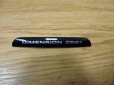 Dell Dimension C521 Silver PC Desktop Case Model Name Sticker
