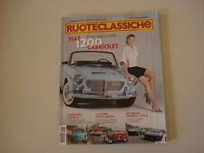 RUOTECLASSICHE 8/2010 DE TOMASO PANTERA/FIAT 1200/TWN/ZAZ 965 A/ASTON MARTIN DB5
