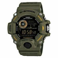 Casio Black Face G-shock Rangeman Mens Digital Sport Green Watch Gw-9400-3d