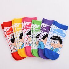 Anime Girl's Ankle Socks SIX SAME FACES Konya wa Saikou Mr.Osomatsu San One Size