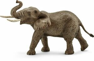 Schleich North America Male African Elephant Toy Figure 14762