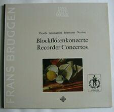 FRANS BRUGGEN /  HARNONCOURT Blockflötenkonzerte / Recorder Concertos LP