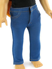 Denim Skinny Jean Pants w/Front Pockets for 18 inch American Girl Doll Clothes