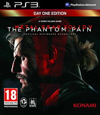 Metal Gear Solid V The Phantom Pain Day One Edition PS3 PlayStation 3 Video Juego